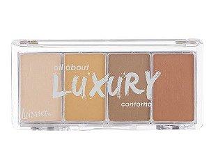 Paleta Contorno All About Luxury 4 Cores - Cor A