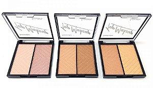 Kit Paleta Iluminador Top Makeup Luisance 2 cores - 03 unidades
