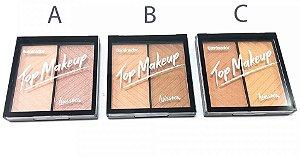 Paleta Iluminador Top Makeup Luisance 2 cores