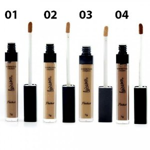Corretivo Líquido Perfect Luisance Cores Escuras - 4 opções de cores