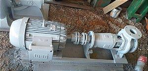 Bomba centrifuga 100 m³ com motor elétrico 25CV