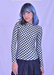 Blusa Checkerboard