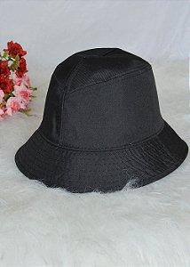 Bucket Hat Preto