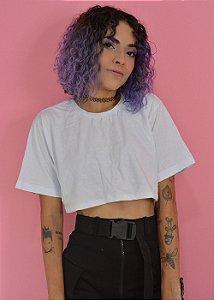 Camiseta Cropped Branca
