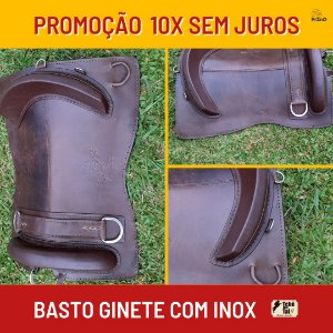 Basto Ginete com Inox