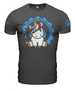 Camiseta ETC Unicórnio This is my Killing Shirt Esperandio Tactical Concept