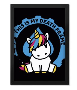 Quadro ETC My Death Frame Unicorn