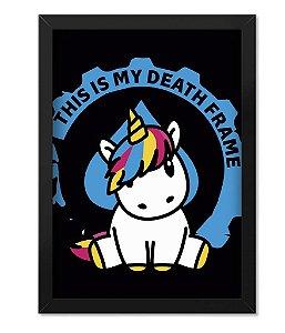 Quadro ETC My Death Frame Unicorn