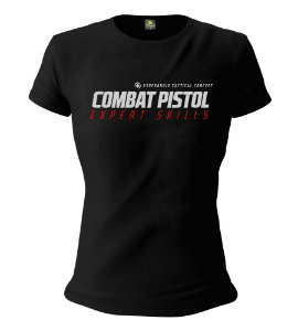 Camiseta Feminina Baby Look ETC Combat Pistol Low Light Esperandio Tactical Concept