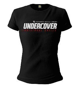 Camiseta Feminina Baby Look ETC Undercover Individual Skills Esperandio Tactical Concept