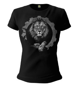 Camiseta Feminina Baby Look ETC Lions Walk With Lions