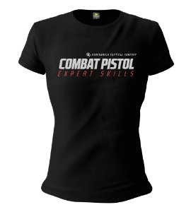 Camiseta Feminina Baby Look ETC Combat Pistol Low Light Esperandio Tactical Concept Wear