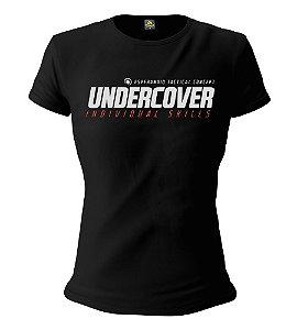 Camiseta Feminina Baby Look ETC Undercover Individual Skills Esperandio Tactical Concept Wear