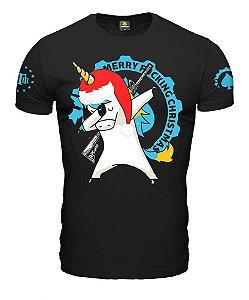 Camiseta ETC Merry Christmas Unicorn Esperandio Tactical Concept