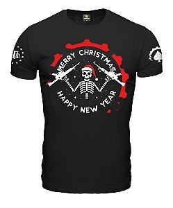 Camiseta ETC Christmas Skeleton Esperandio Tactical Concept