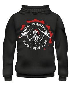 Casaco com Capuz ETC Christmas Skeleton