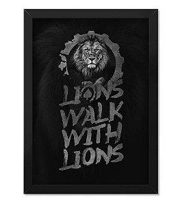 Quadro ETC Lions Walk With Lions
