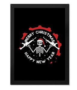 Quadro ETC Christmas Skeleton