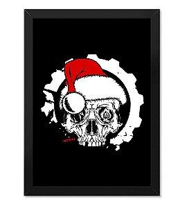 Quadro ETC Christmas Skull