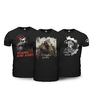 Combo 03 Camisetas ETC Esperandio Concept