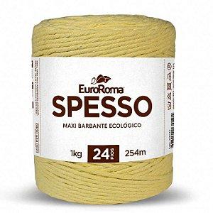 Barbante Euroroma Spesso 4x24 1KG - Amarelo