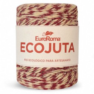Barbante Ecojuta Euroroma - Bordô