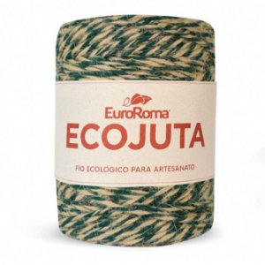 Barbante Ecojuta Euroroma - Verde musgo