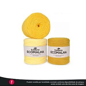 Fio de Malha Ecomalha Euroroma - Tons de amarelo