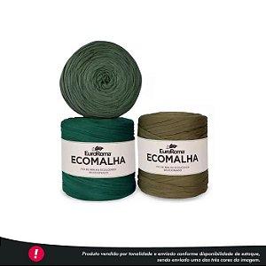 Fio de Malha Ecomalha Euroroma - Tons de verde forte