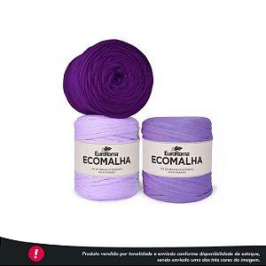Fio de Malha Ecomalha Euroroma - Tons de violeta