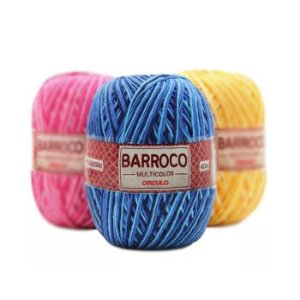 Barbante Barroco Multicolor 400g