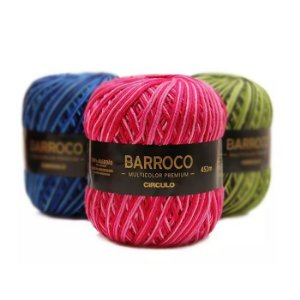 Barbante Barroco Multicolor Premium 400G