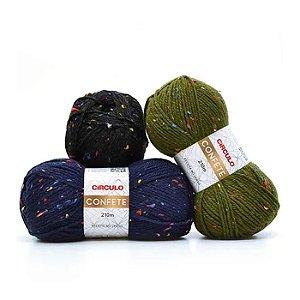 Lã confete 210m