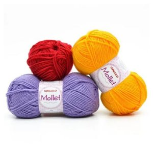 Lã Mollet 80M