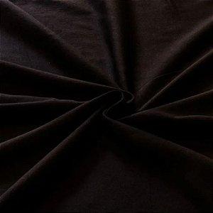 Tecido Tricoline Preto Liso 1,00 x 1,40 MT