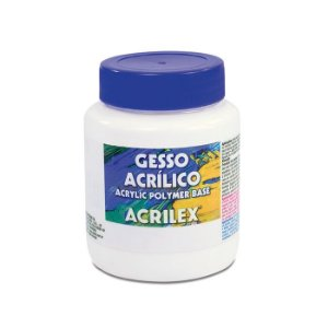 Gesso Acrílico Branco 250 ml