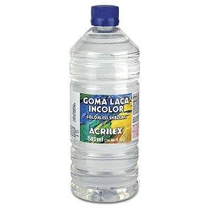 Goma Laca Incolor 500  ml