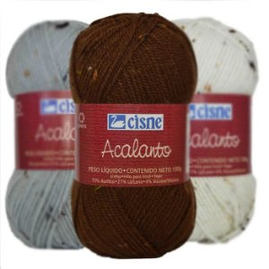 Lã Cisne Acalanto 100g