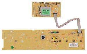Placa compatível lavadora BWL11_V2 c/potência bivolt / Interface W10301604
