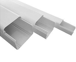 Canaleta Branca De Pvc Para Ar Split - 60x50mm 2 Metros