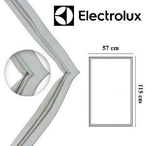 Gaxeta Borracha Inferior Para Refrigerador Electrolux Dc360