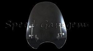 Bolha Parabrisa Yamaha Xj6 Fazer 250 Dt 180 200 Factor Ybr 125 Xtz 125 250 Rdz Rd 125 135 350 Air Jet 400 AJ4T Transparente