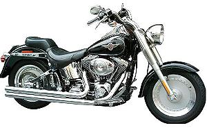 "Escapamento Torbal Harley Davidson Fat Boy 2003-2004 2"" 1/4 Pol. Long. Corte Reto"