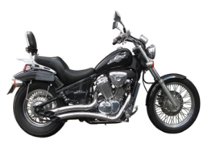 """Escapamento Torbal Honda Shadow 600 Todos os Anos 2  1/4"""" Polg. Furia"""