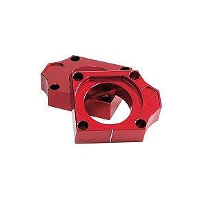 Guia Esticador de Corrente Honda Cr 125 250 Crf 450 X R Alumínio Vermelho Red Dragon
