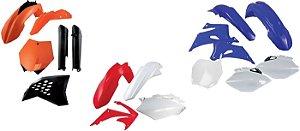 Kit Carenagem Yamaha Wrf 450 12-15 Cor Modelo 2015 4 Peças Red Dragon