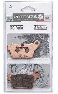 Pastilha Freio Traseiro Sinterizada RC Furia Suzuki Srad 1000 750 Hayabusa Potenza