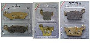 Pastilha Freio Tras Semi-Metalico GG Serie Xt Evolution Ktm Ex Exc Husaberg Husqvarna Potenza