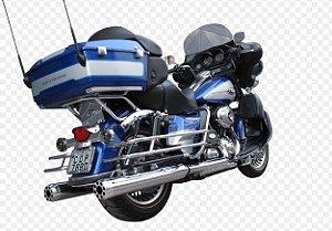 "Ponteira do Escapamento Torbal Harley Davidson Electra Glide e Road King 2004-2016 4"" 1/2 Advance"