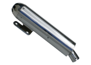 Ponteira do Escapamento Torbal Honda Vtx 1800 Todos os anos 4/12 Polegadas 70cm terminal aluminio